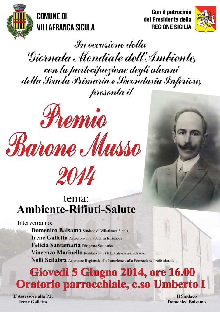 Premio Barone Musso 2014
