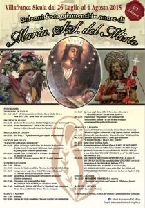 Festeggiamenti Maria SS. Del Mirto